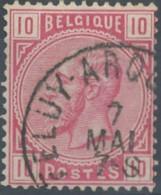 [48454]N° 38, Obl 'Feluy-Arquennes', Nipa +6? - 1883 Léopold II