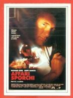 CINEMA-CARTOLINA MANIFESTO FILM-AFFARI SPORCHI-ANDY GARCIA-RICHARD GERE-NANCY TRAVIS - Manifesti Su Carta