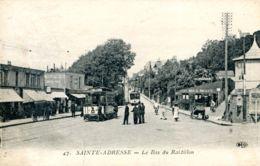 N°67736 -cpa Sainte Adresse -le Bas Du Raidillon- - Sainte Adresse