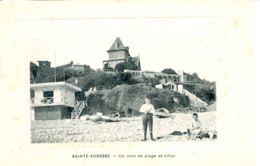 N°67739 -cpa Sainte Adresse -un Coin De Plage Et Villas- - Sainte Adresse