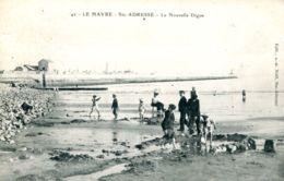 N°67740 -cpa Sainte Adresse -la Nouvelle Digue- - Sainte Adresse