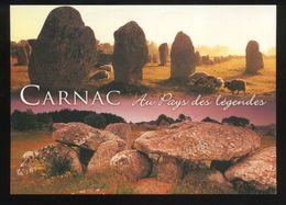 (56) Carnac - Les Alignements Du Ménec Et Allée Couverte De Kermario - Dolmen & Menhirs