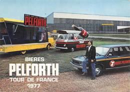 Tour De France 1977 Bière Bières Pelforth Camion - Cycling