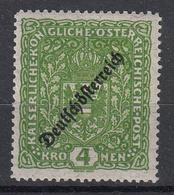 OOSTENRIJK - Michel - 1919 - Nr 245IIA - MH* - 1918-1945 1. Republik