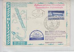 AUSTRIA 1958 - Annullo Speciale - Aerei