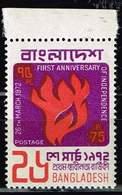 Bangladesh, Michel# 15 **     1st Anniversary Of Independence - Bangladesch