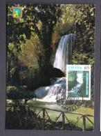 3.P.- SPAIN 1997 MAXIMUM CARD WATER WORLD DAY - WATER FAIL - Protección Del Medio Ambiente Y Del Clima