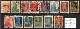 URSS - RUSSIA 1923 FRANCOBOLLI USATI CAT. € 45,00 - 1923-1991 URSS