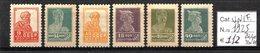 URSS - RUSSIA 1925 FRANCOBOLLI NUOVI MH/MNH CAT. € 112,00 - 1923-1991 URSS