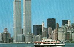 NEW YORK CITY-WORLD TRADE CENTER-CIRCLE LINE - World Trade Center