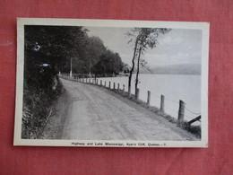 Canada > Quebec > Highway & Lake Massawippi  Ayer's Cliff    3097 - Quebec