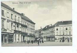 Mechelen Malines Place De La Gare - Mechelen