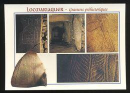 (56) Locmariaquer : Gravures Préhistoriques Dans La Table Des Marchand - Dolmen & Menhirs