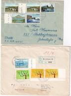 ISLANDE LOT DE 2 LETTRES - 1944-... Republique