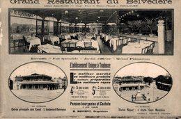 9231-2018       TOULOUSE  GRAND RESTAURANT DU BELVEDERE - Toulouse