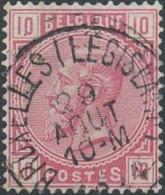 [46724]N° 38, TB Obl Centrale 'Bruxelles (Législatif)' - 1883 Léopold II