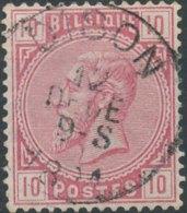 [46731]N° 38, TB Obl Centrale 'Dison', Nipa +4? - 1883 Léopold II