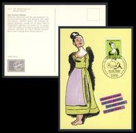 """Deutschland Germany 1982 Maxicard Maximumkarte + Mi 1129 - """"Die Fromme Helene"""" Wilhelm Busch, Writer / Dichter - Schrijvers"""