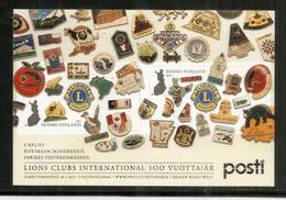 FINLANDE. Centenaire Lions Clubs International. Bloc-feuillet Neuf ** Nr F2459., Année 2017 - Rotary, Lions Club