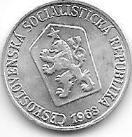 * Czechoslovakia 1 Haleru 1963  Km 51unc - Czechoslovakia