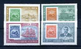 1963 COSTA RICA PA SET MNH ** - Costa Rica