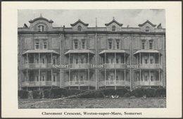 Somerset Legion House, Claremont Crescent, Weston-Super-Mare, C.1920s - Postcard - Weston-Super-Mare