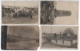LOT De 4 CARTES PHOTOS Du CAMP DE PRISONNIERS D'AMBERG (BAYERN) - Amberg