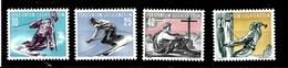 Serie De Liechtenstein Nº Yvert 296/99 *  DEPORTES (SPORTS) - Liechtenstein