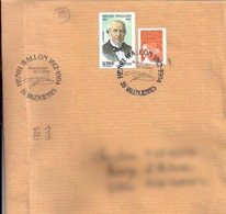 59 - NORD - 59.VALENCIENNES / HENRI WALLON  - 2004 - TàD DE TYPE ILL. - Poststempel (Briefe)