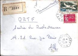 59 - NORD - 59.WALLERS A  - 1973 - TàD DE TYPE D9d - Poststempel (Briefe)