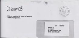 59 - NORD - 59.WASQUEHAL / *PP*  - 1997 - TàD DE TYPE A9 - Poststempel (Briefe)
