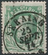 [49345]N° 30, Superbe Obl Centrale DC 'Seraing' - 1869-1883 Léopold II