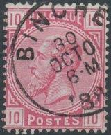 [49919]N° 38, TB Obl 'Binche' - 1883 Léopold II