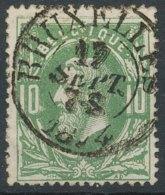 [49989]N° 30, Superbe Obl Centrale 'Bruxelles' Type D1, Nipa +9? - 1869-1883 Léopold II