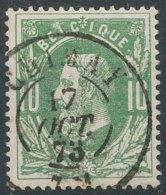 [49998]N° 30, Superbe Obl Centrale DC 'Chimay' - 1869-1883 Léopold II