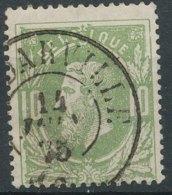 [50020]N° 30, TB Obl DC 'Godarville', Nipa +12,5? - 1869-1883 Léopold II