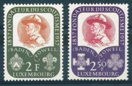 [50086]N° 526/27, Scoutisme : Baden Powell - Luxembourg