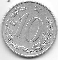 Czechoslovakia 10 Haleru 1969 - Tchécoslovaquie