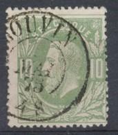 [50155]N° 30, TB Obl DC 'Couvin' - 1869-1883 Léopold II