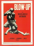 CINEMA-CARTOLINA MANIFESTO FILM- BLOW-UP-DAVID HEMMINGS-VANESSA REDGRAVE-SARAH MILES - Manifesti Su Carta