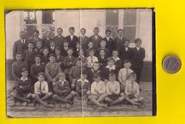 ©1935 ZEVEKOTE GISTEL KLAS-FOTO JONGENS 18x13cm Photo 3SCHOOL ECOLE CLASSE Heemkunde Geschiedenis ANTIQUARIAAT R33 - Gistel