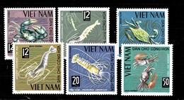Serie De Vietnam Nº Yvert 442/47 **  ANIMALES (ANIMALS) - Viêt-Nam
