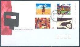 AUSTRALIA  - FDC - 25.3.2003 - AUSTRALIAN PAINTINGS - Yv 2114-2117 - Lot 18602 - Premiers Jours (FDC)