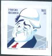 BRAZIL 2018 - RONALD GOLIAS  - BRAZILIAN HUMORIST   -  MINT - Unused Stamps