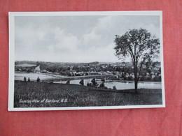 New Brunswick  Hartland  General View Ref 3097 - New Brunswick