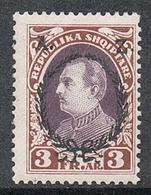 ALBANIE N°186 N** - Albanie