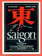 CINEMA-CARTOLINA MANIFESTO FILM- SAIGON-WILLEM DAFOE-GREGORY HINES- - Manifesti Su Carta