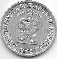Czechoslovakia 10 Haleru 1963 - Tchécoslovaquie