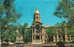 STATE CAPITOL BUILDING-CHEYENNE,WYOMING-1965 - Cheyenne