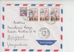 TUNISIA 1964 - Lettera Per Yugosklavia - Tunisia (1956-...)